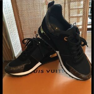 Louis Vuitton Run Away Sneakers NIB Size 6.5 36.5